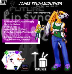 01 Jones Tsunamidusher