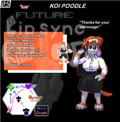 05 Koi Poodle
