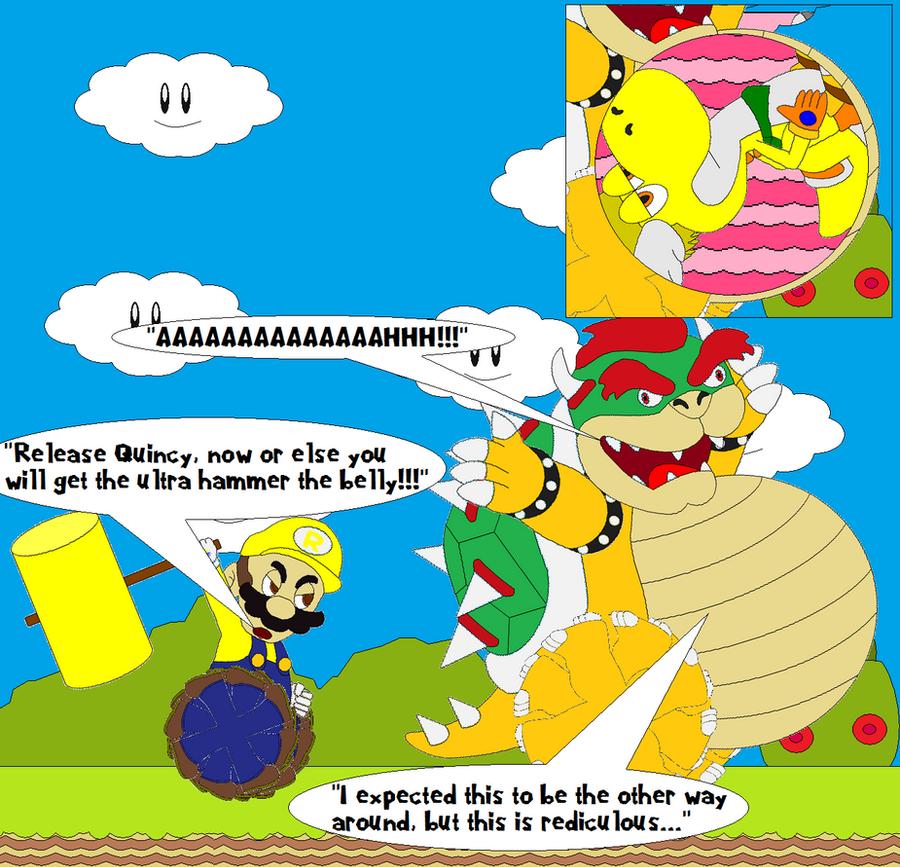 Run, Bowser, Run!!! by SuperUltraMarioFan
