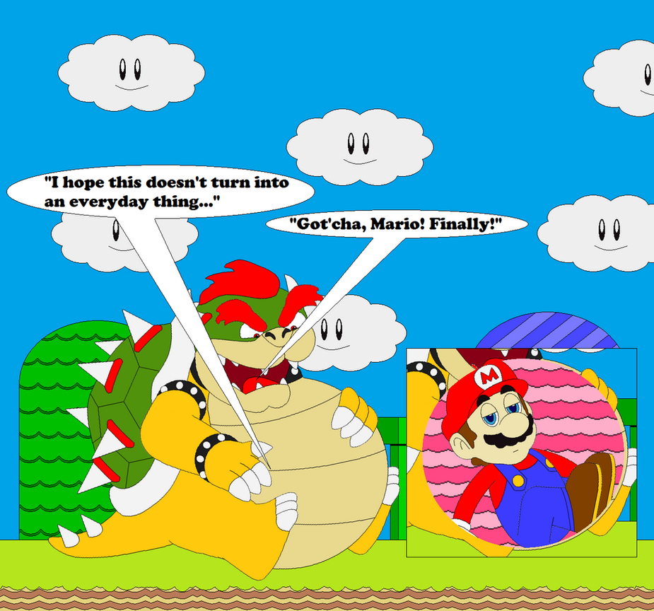 Bowser's 12:00 Bucket-List Scheduling by SuperUltraMarioFan