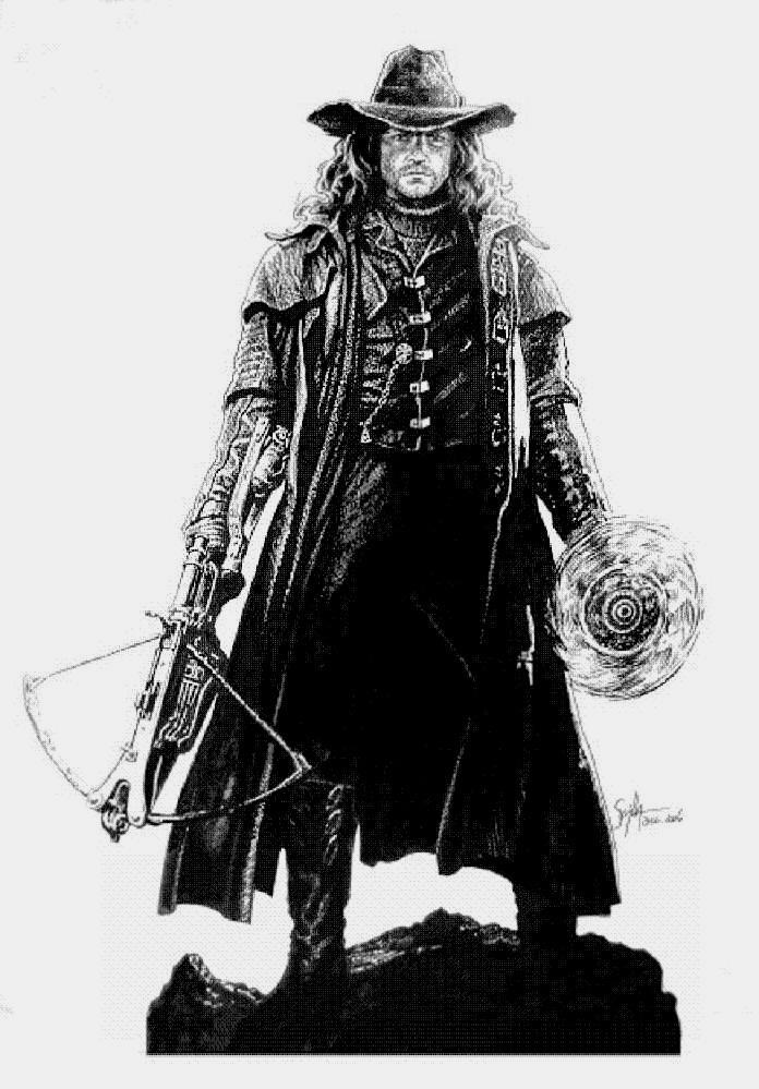 Van Helsing by tonio48Van Helsing Drawing