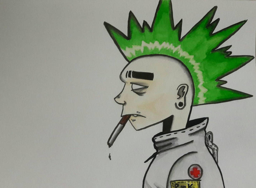 Green Punk by Vivi-2001