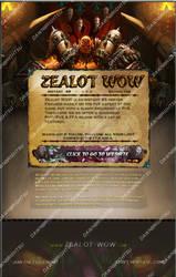 Recreation of Zealot WoW Advertizement Post by ta6363237