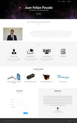 Portfolio Design (Juan Felipe Posada) by ta6363237