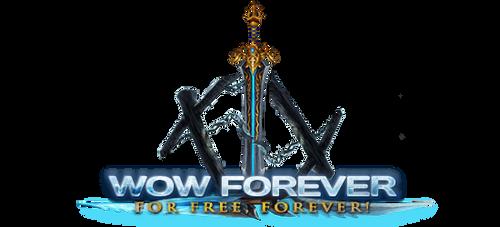 Logo for WoW Forever