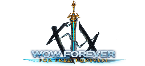 Logo for WoW Forever by ta6363237