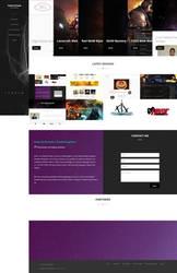 Gabriel Posada Portfolio! My own Website portfolio by ta6363237