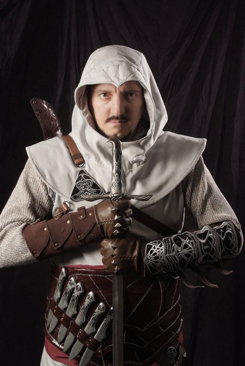 Assassins Creed Altair Cosplay Costume 1 By Pixel Pushers On