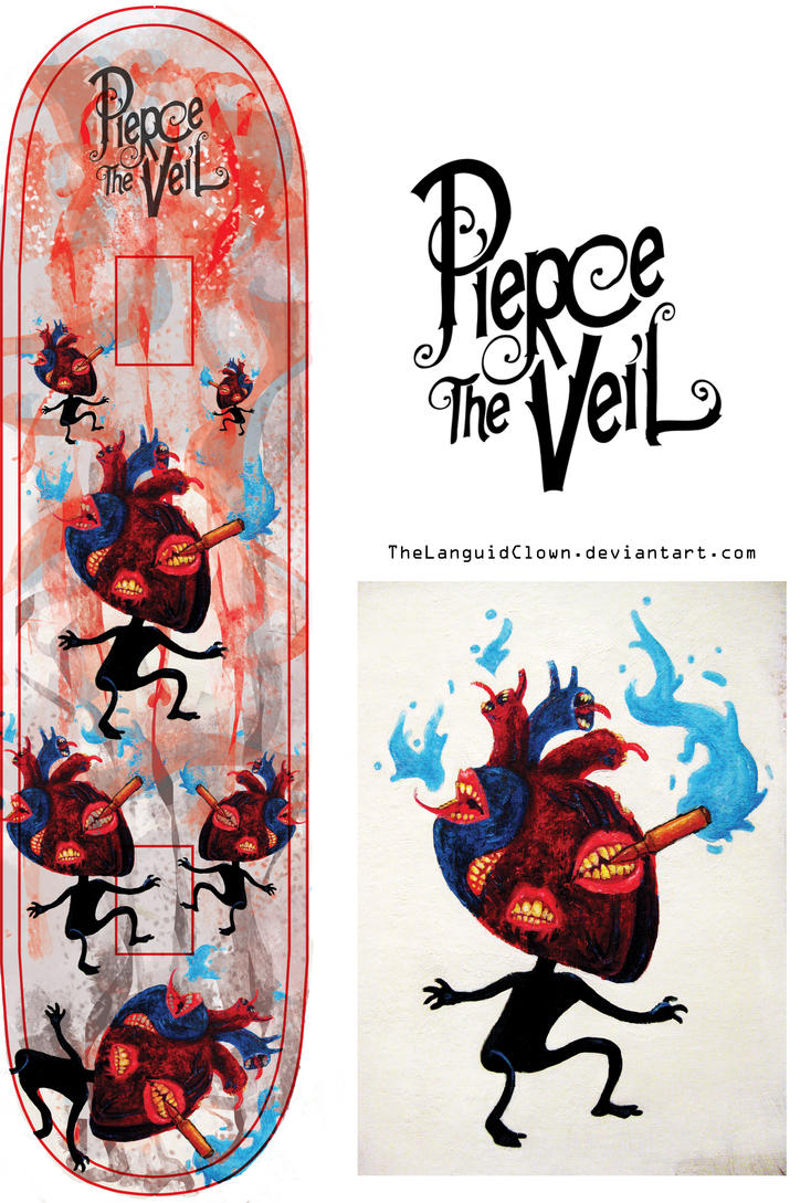 Pierce The Veil: Bulletproof Love by TheLanguidClown