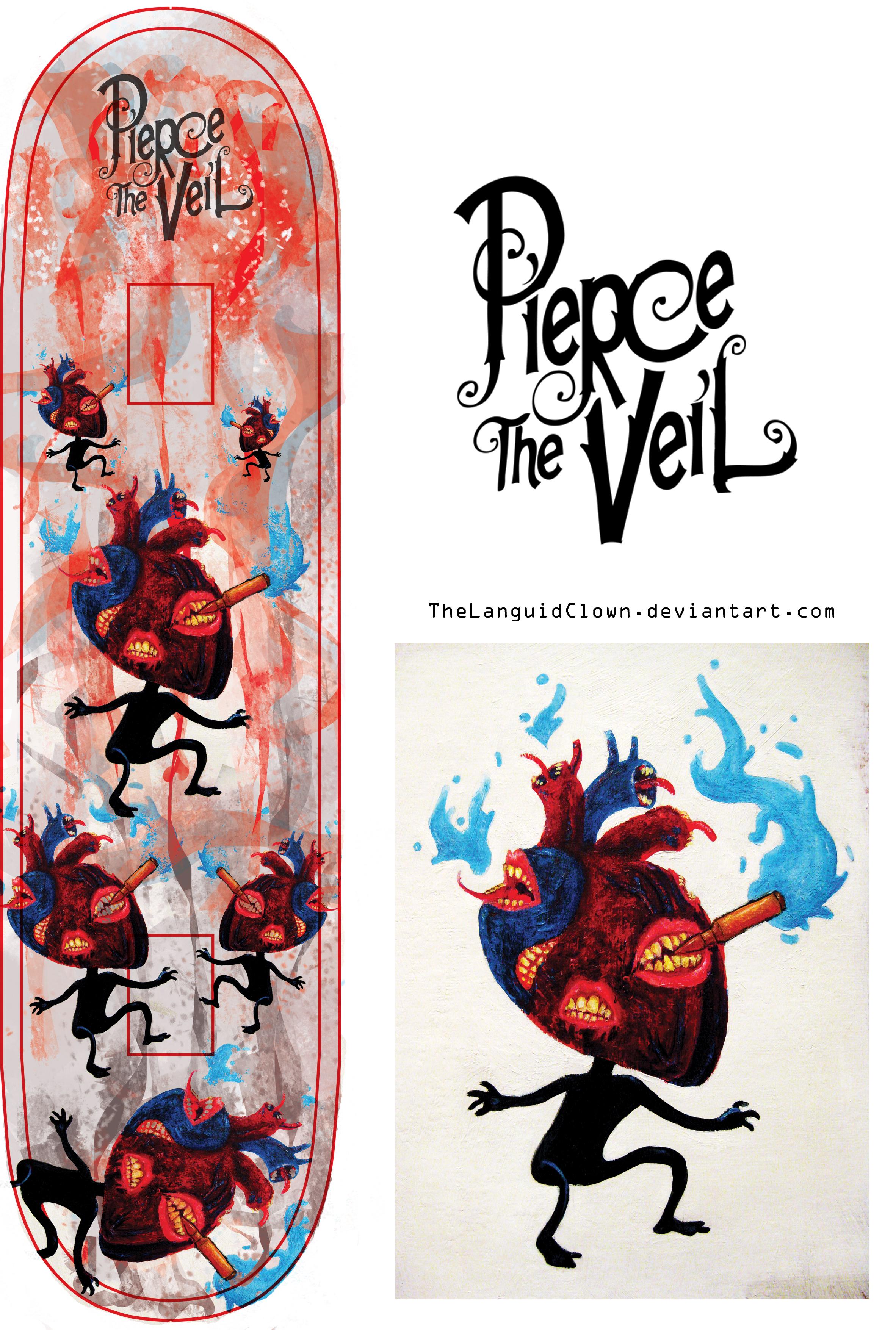 Pierce The Veil: Bulletproof Love by TheLanguidClown