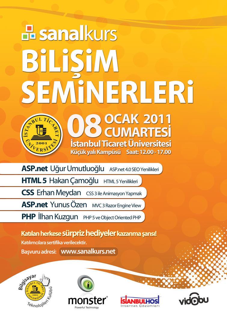 Sanalkurs Seminar 3 Poster by siracel