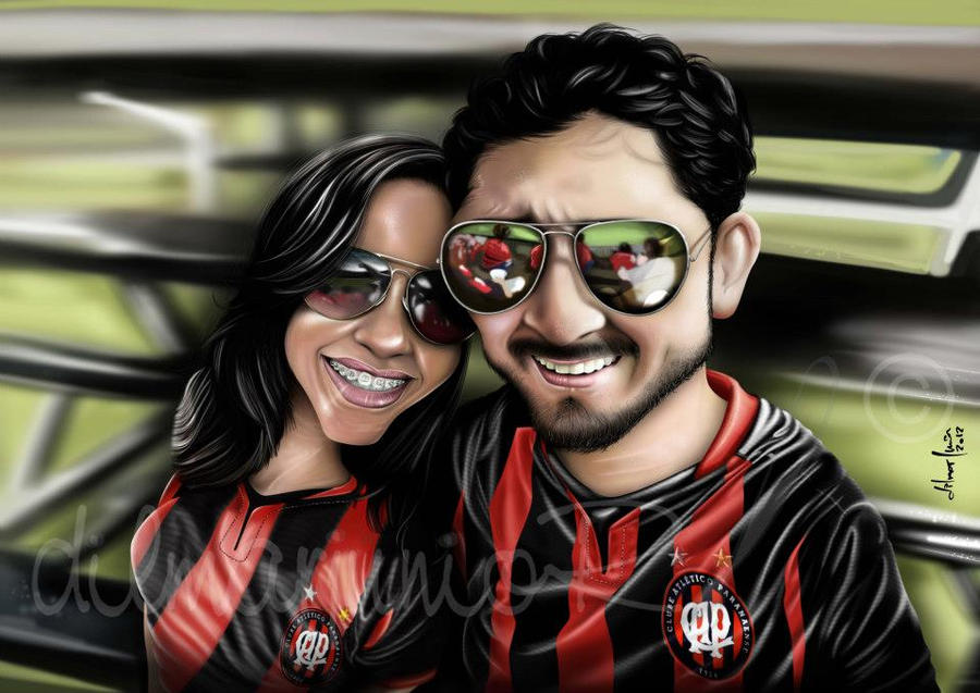 Bruno e namorada by dilmarjunior