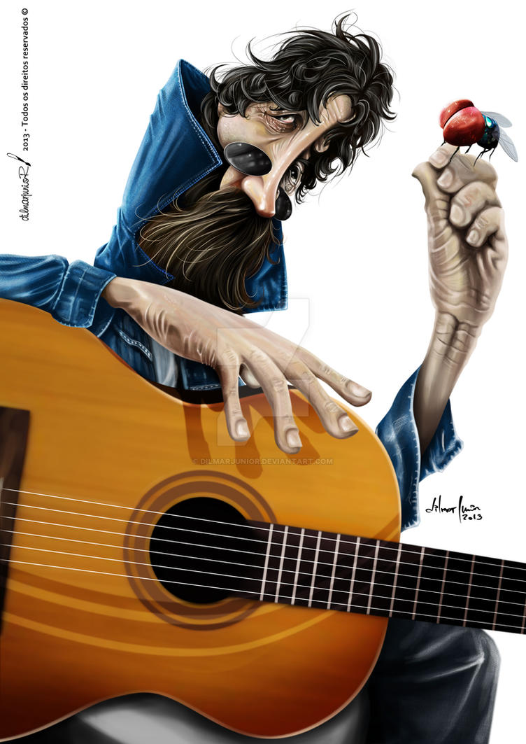 Raul Seixas by dilmarjunior