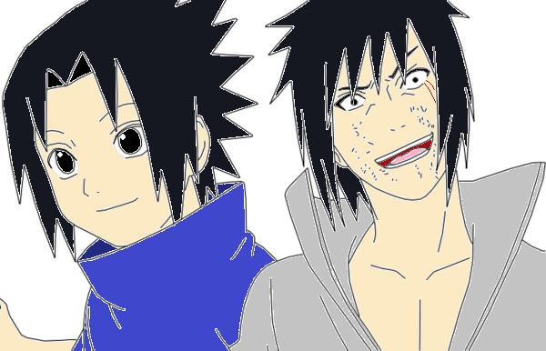 Sasuke Lineart : Child and adult sasuke uchiha lineart by denniss romanoloves