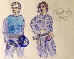 Chill out, Murph ! by Johnson7113