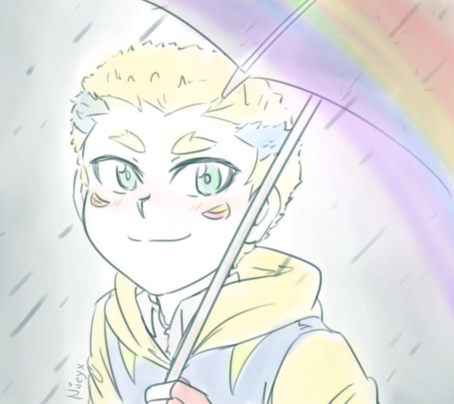 Rainbow in the rain [Beyblade Burst Gachi]
