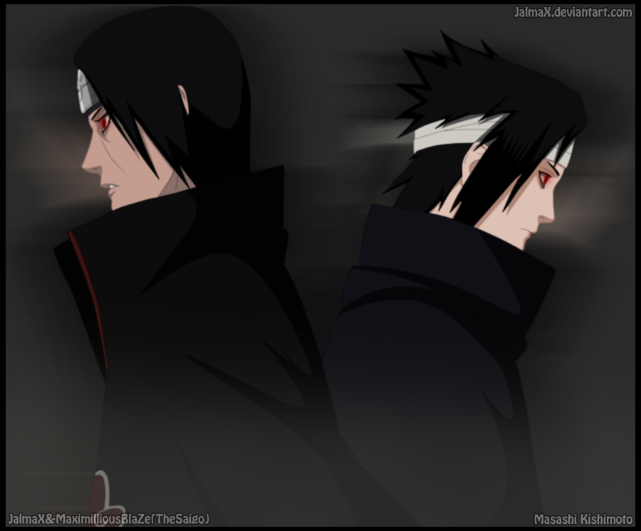 Sasuke vs Itachi by JALMAX on DeviantArt