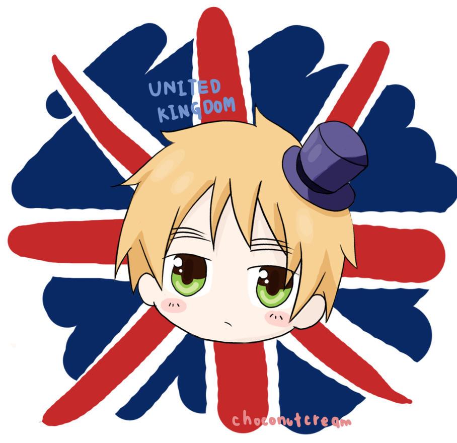 - APH : Chibi!England - Arthur Kirkland by Choconutcream
