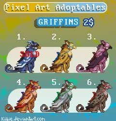 Pixel Art adoptables - Griffin (OPEN)