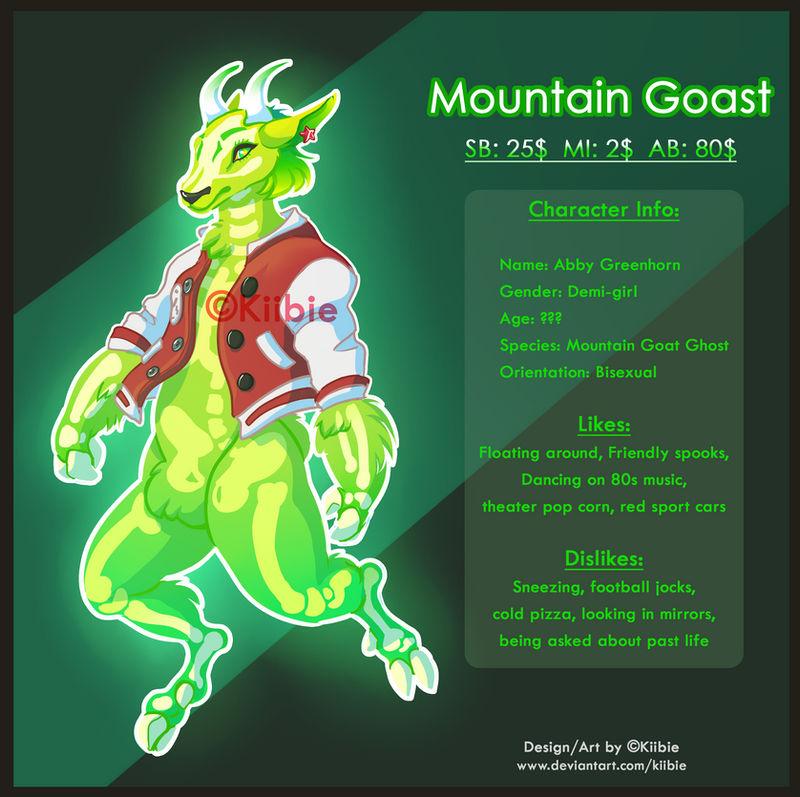 Mountain Goast - Auction -Closed-