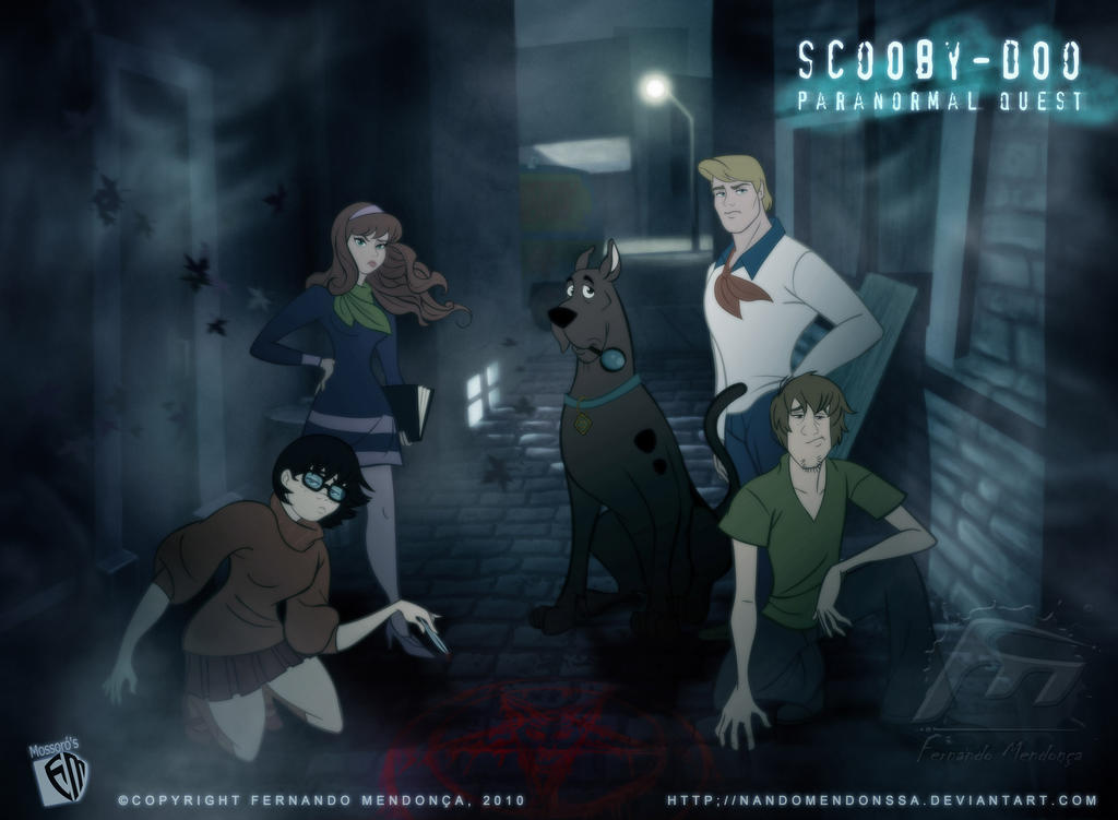 Scooby Doo Paranormal Quest