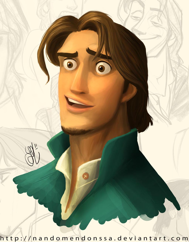 Flynn Rider Color Test by nandomendonssa