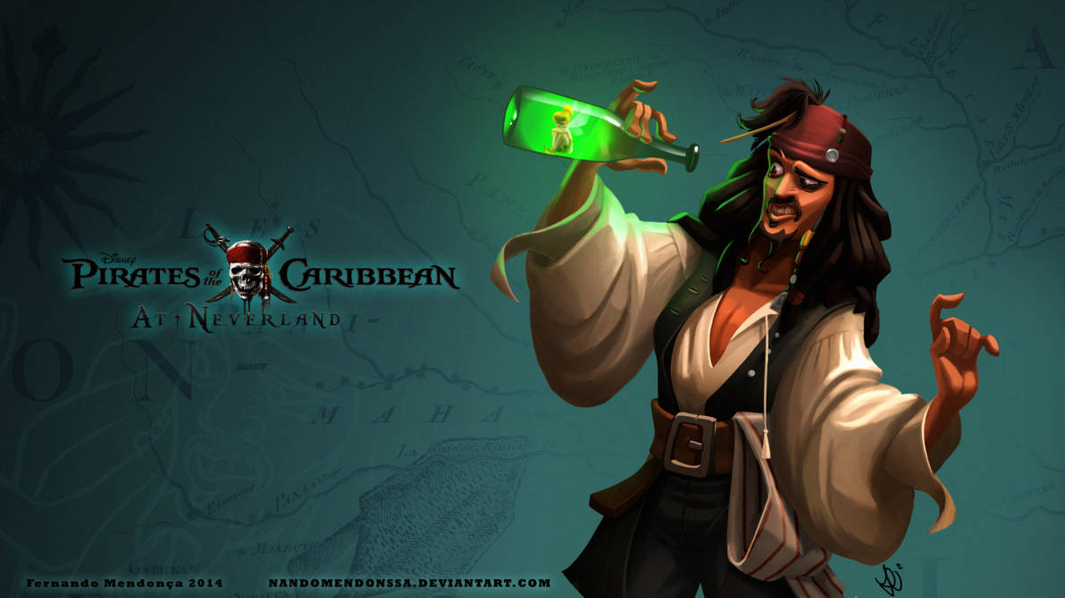 Pirates of the Caribbean at Neverland