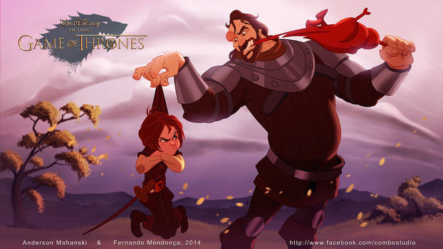 Arya Stark And The Hound - Disney Got Collection