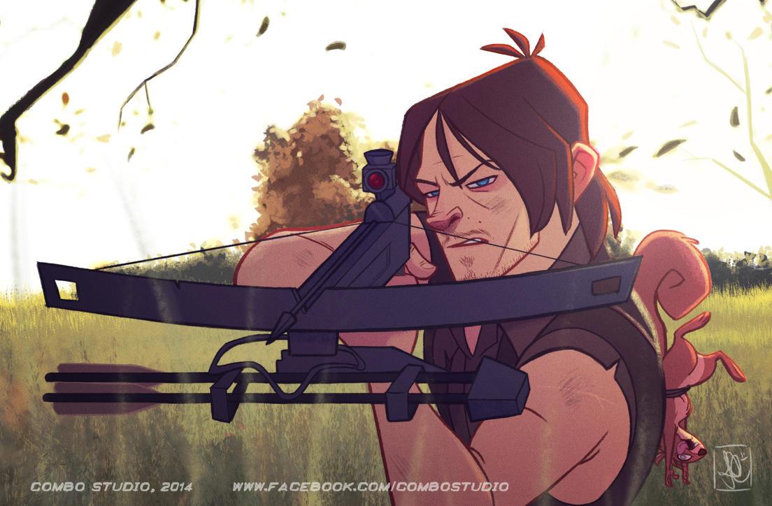 Daryl Dixon by nandomendonssa
