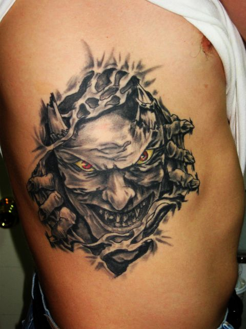 Demon Tattoo by Patsy Grieco