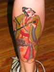 Samurai Tattoo by Patsy Grieco