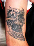 Skull Tattoo by Patsy Grieco