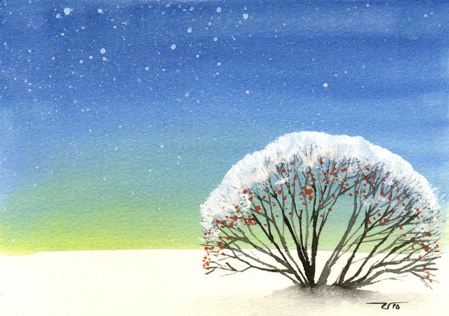 Winter card V by 13Mirror