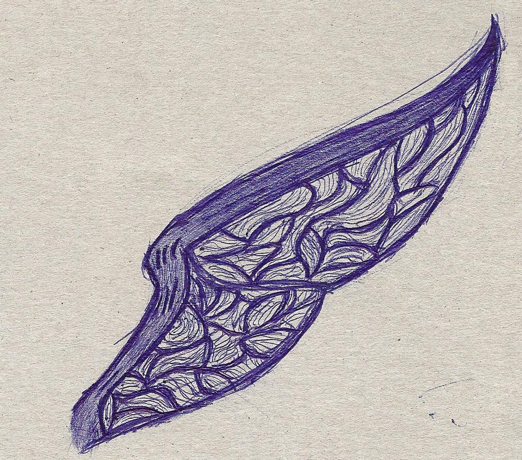Wing 2 by Lunajanka