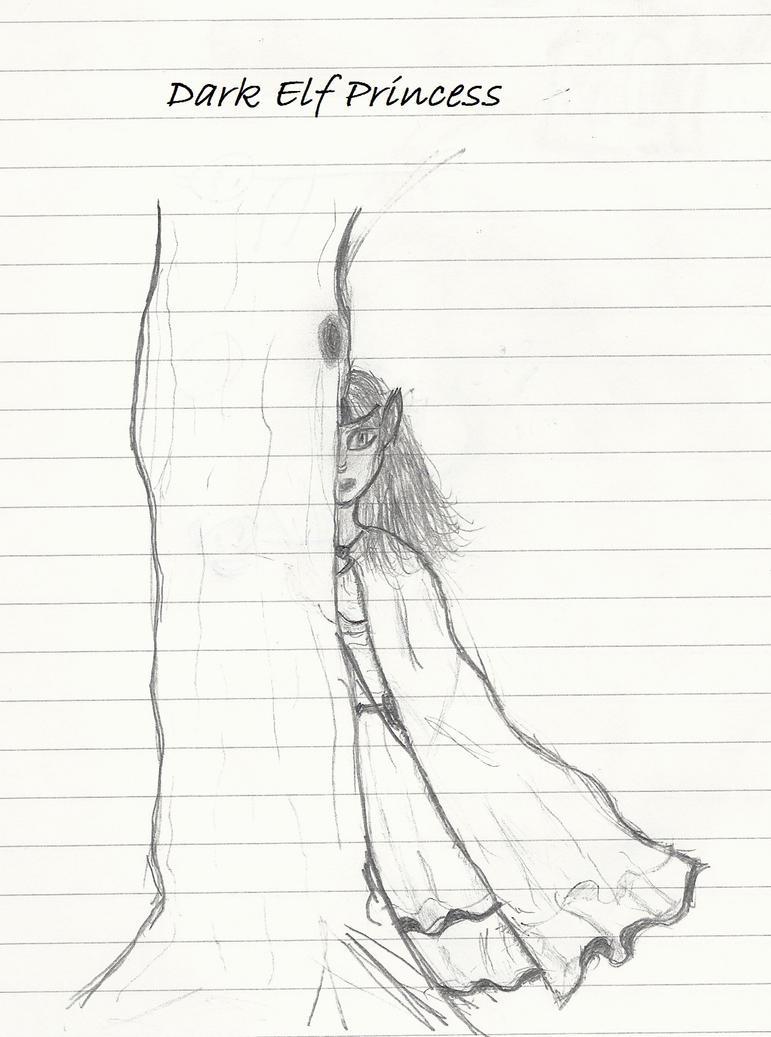 Dark Elf Princess by Lunajanka