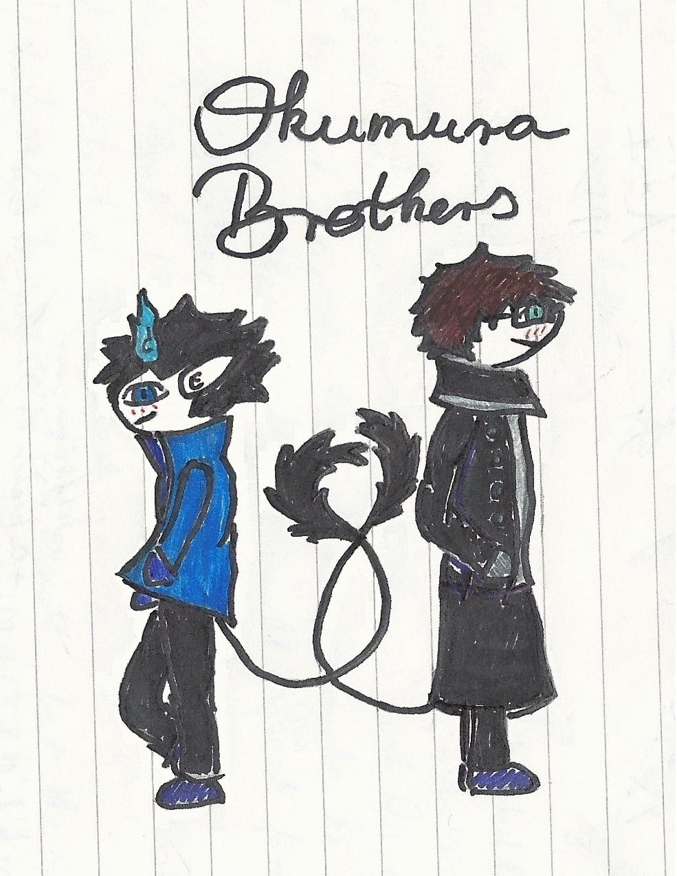 Okumura Brothers 3 by Lunajanka