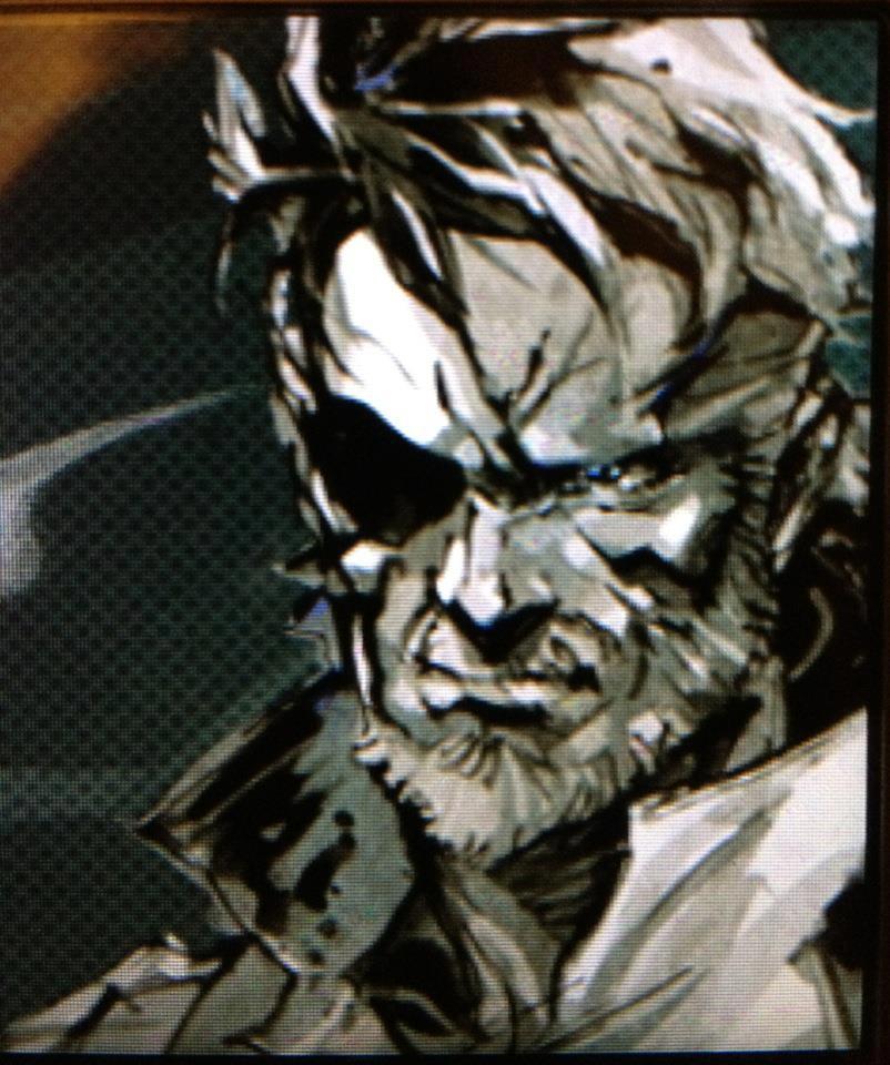 Big Boss Metal Gear Solid Peace Walker Psp By