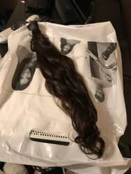 My hair that Im donating.