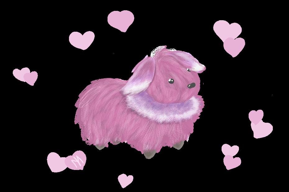 Floof doggo/bun bun by Cinnamoncustard