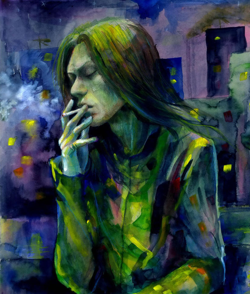 smoking Die by ototoi