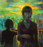 thinking of the future... by ototoi