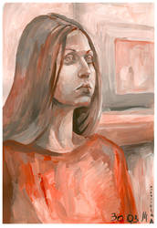 a girl by ototoi