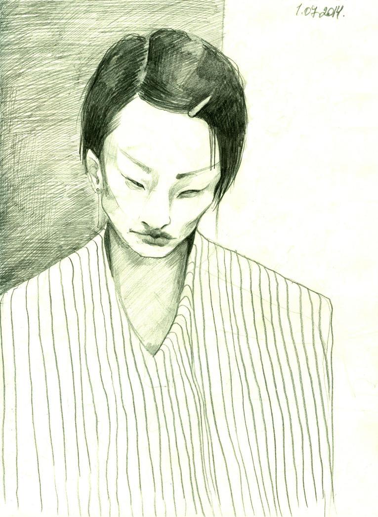 chinese girl by ototoi