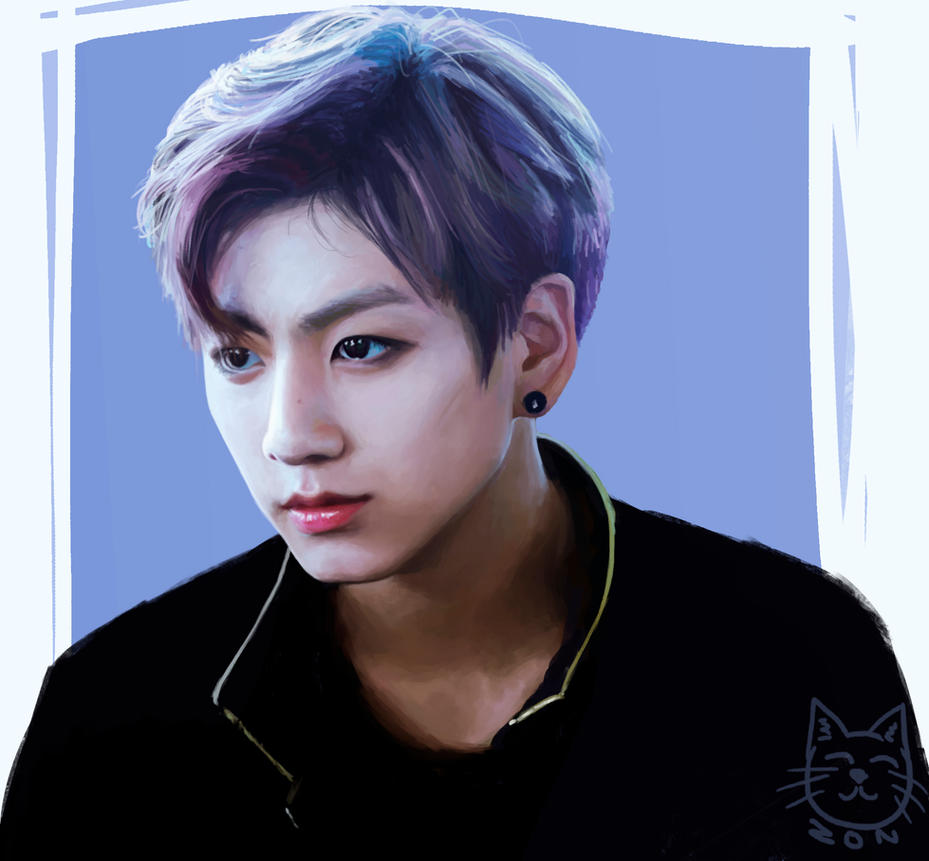 Forehead Jungkook by funsizedcat