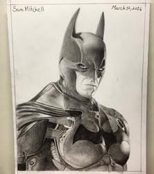 Draw Batman! Arkham Knight