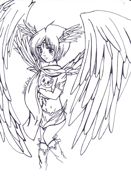 Angel Girl By Yuuvi