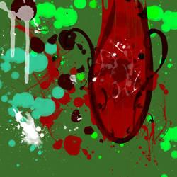Fish Splatter Design