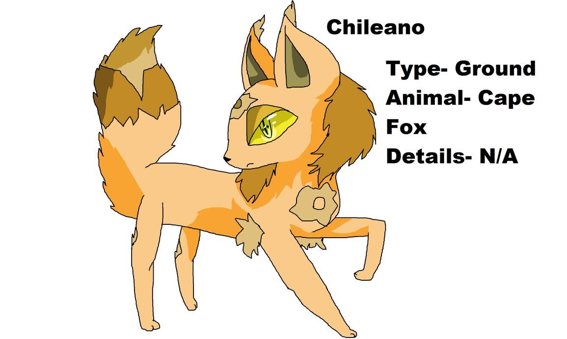 Chileano (Fake Pokemon) by scarletbar