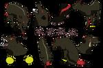 Saric Meiras (Azurehowl Ghost Pups OC)