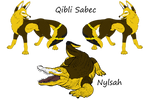 Nylsah and Qibli (Official Ghost Pups)